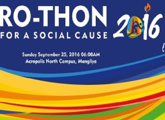 ACROTHON 2016- A Run For No Eve Teasing